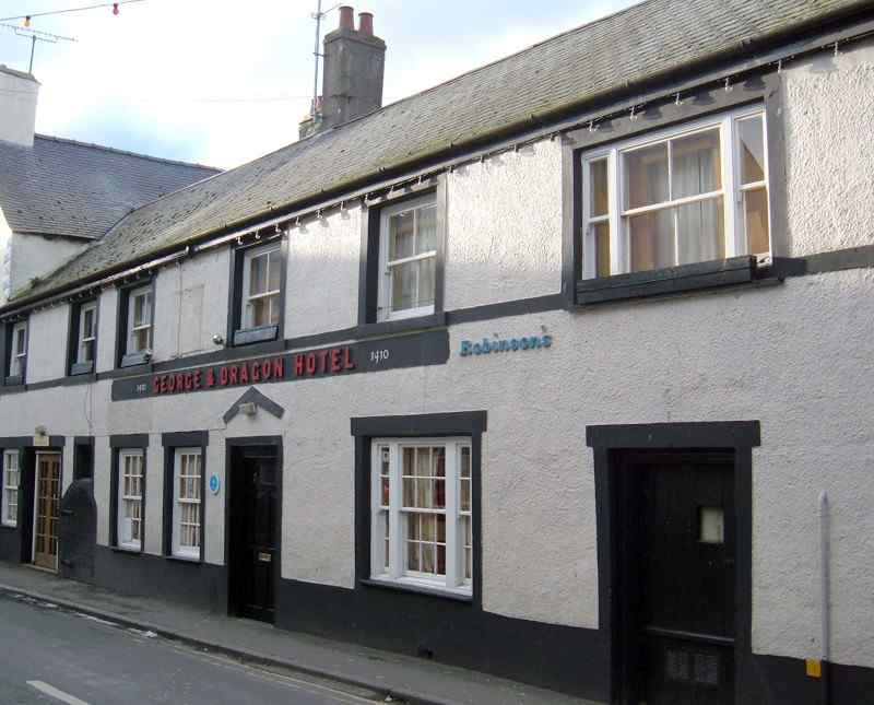 The George and Dragon Inn dated 1410