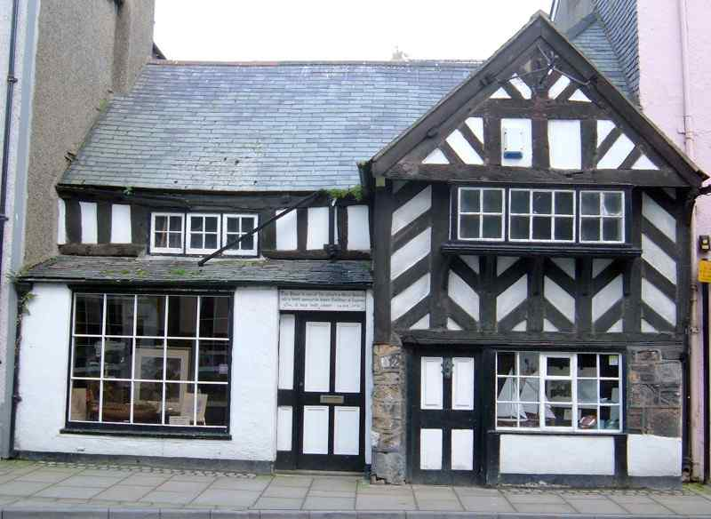 Beaumaris, The Tudor House dated 1416