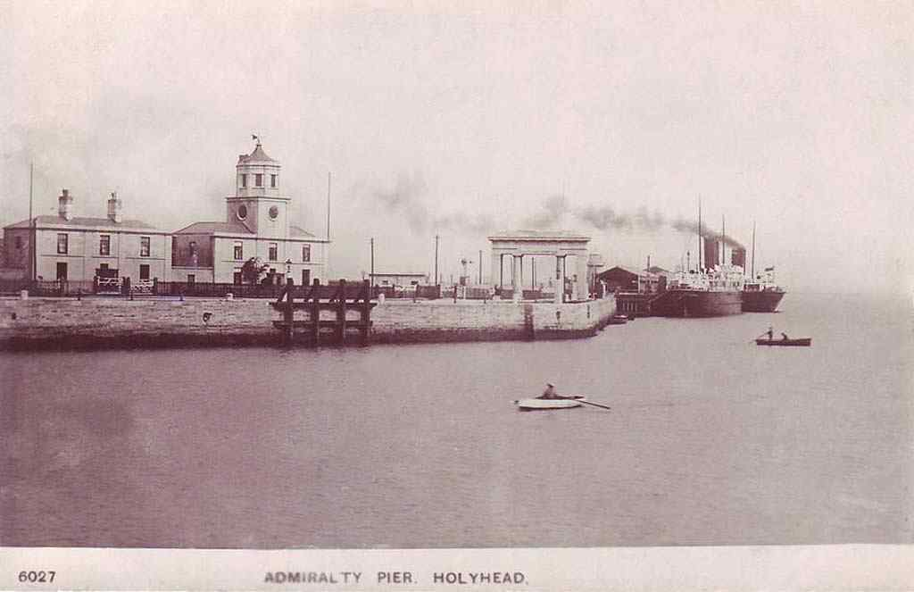 Anglesey, Holyhead, Admiralty Pier