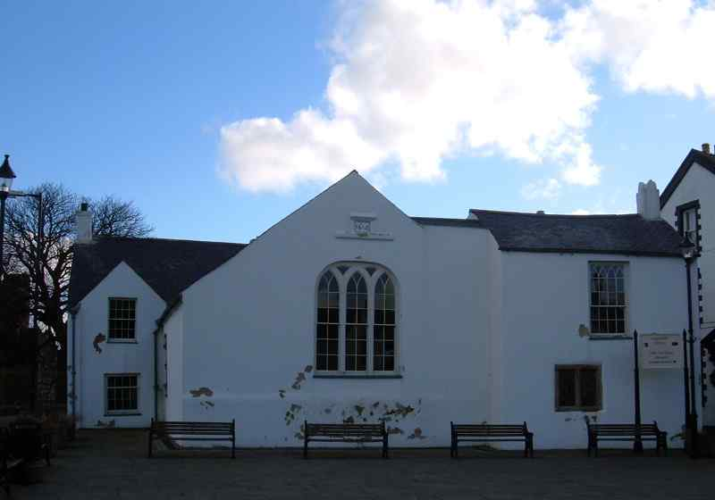 Beaumaris Courthouse - opened circa 1614