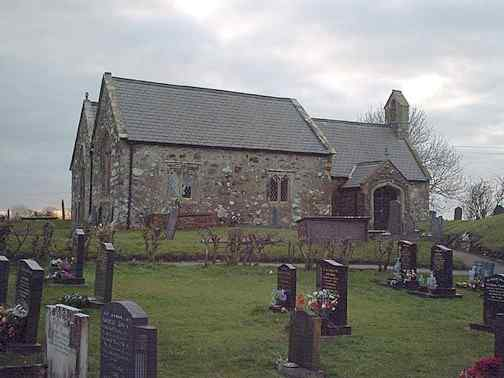 Gwalchmai (Morhaiarn) Church