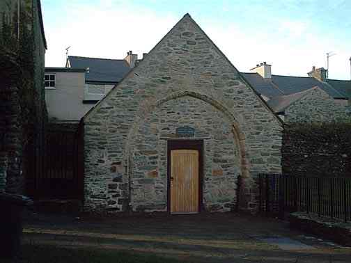 Holyhead's First School - in the grounds of St Cybi's Church