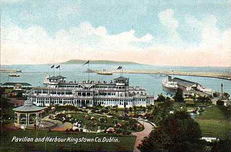 Kingstown Harbour in 1914