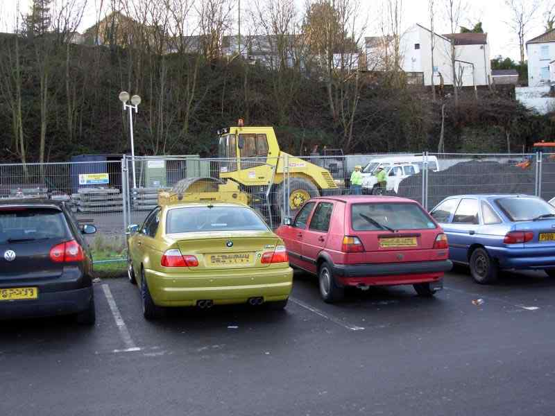 Leo's Car Park in Porth