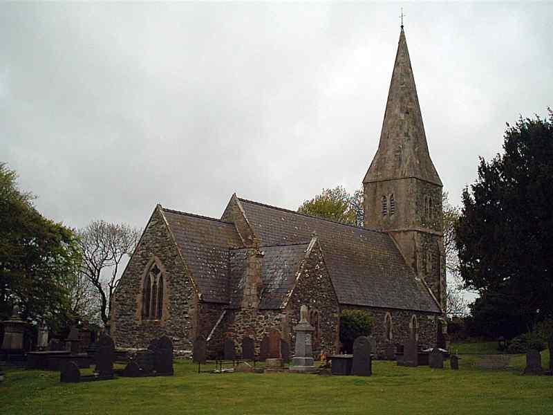 Llangaffo Church - St Caffo's
