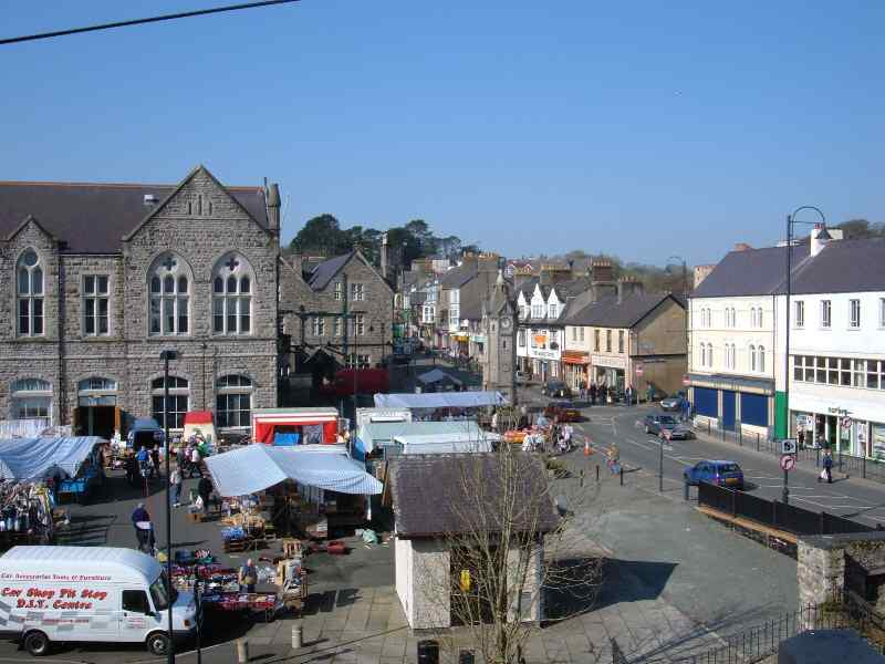 Llangefni Market and Square