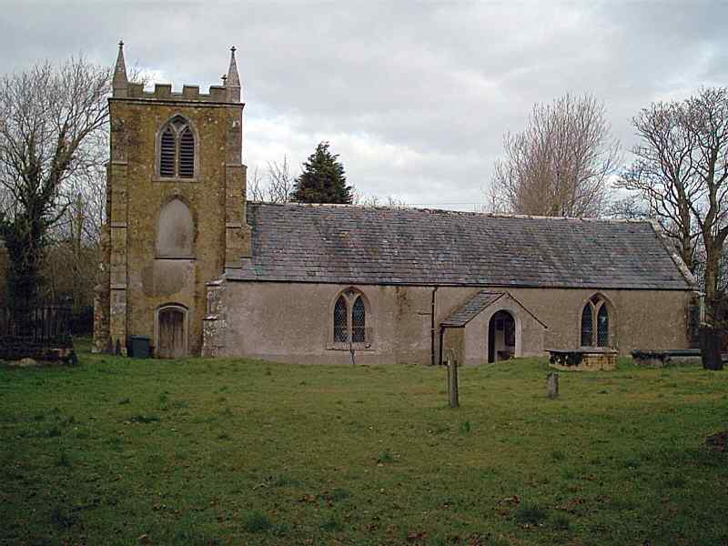 Llangeinwen Church - St Ceinwen's - one of the few churches dedicated to a female Saint