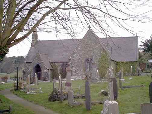 Llangoed Church - St Cawdraf's