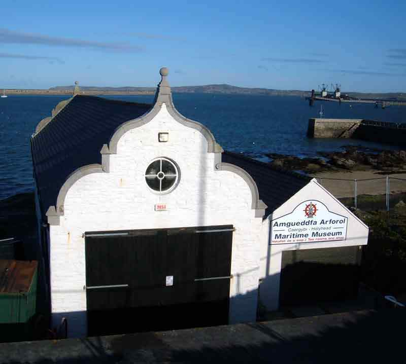 The Maritime Museum in Holyhead
