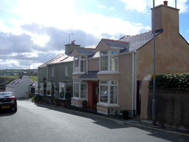 A row of houses in Moelfre