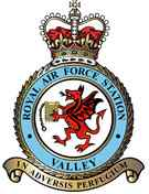 Royal Air Force Valley crest