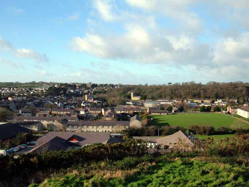 View 1 of Llangefni from Melin Craig