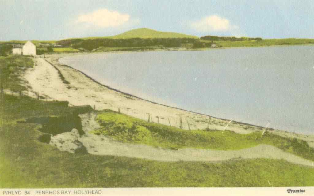 Anglesey, Holyhead, Penrhos Bay - before Morawelon was built