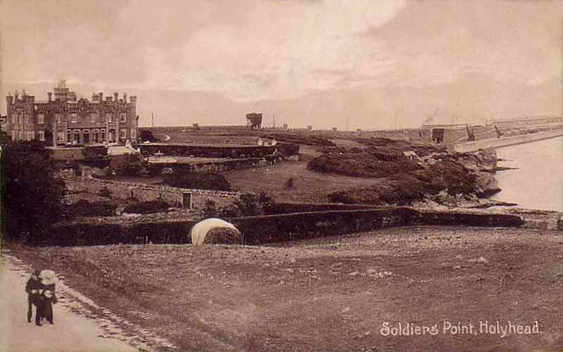 Anglesey, Holyhead, Soldiers Point 1910's