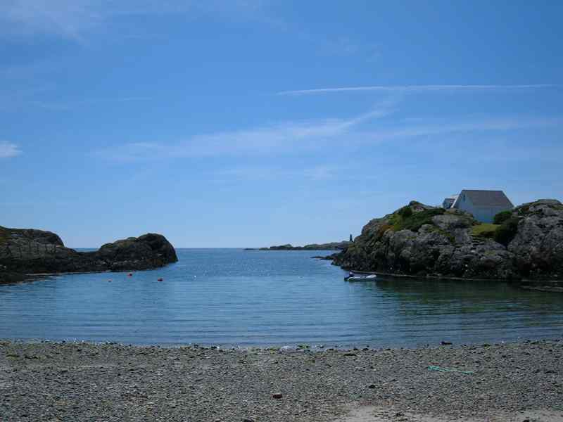 A small sea inlet near Rhoscolyn Beach