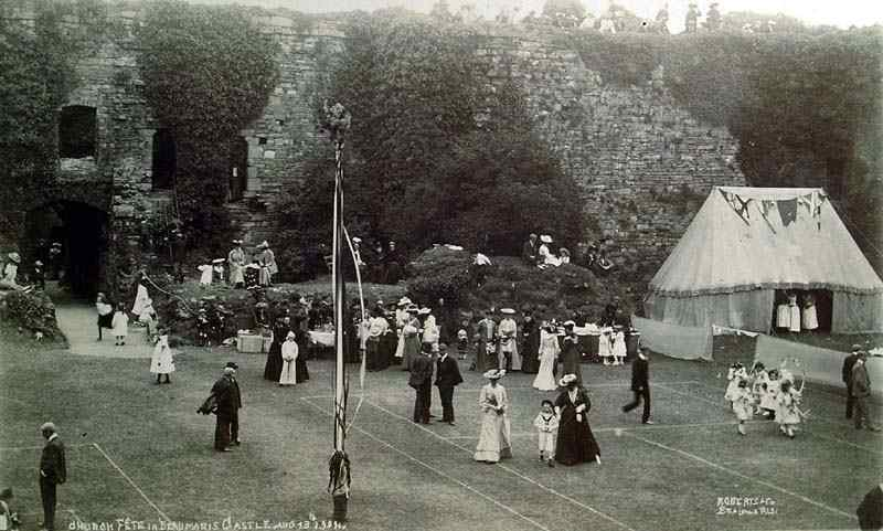 Beaumaris Castle Church Fete 1904