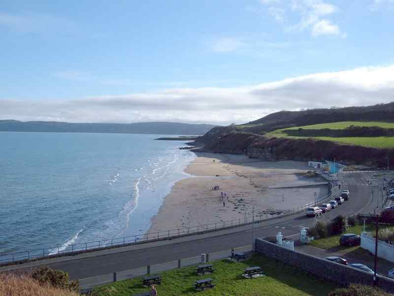 A panoramic view of Benllech