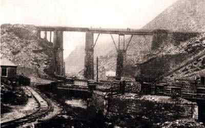 Blaenau Ffestiniog Welsh Slate Quarry Viaduct Built 1889 by Thomas Williams