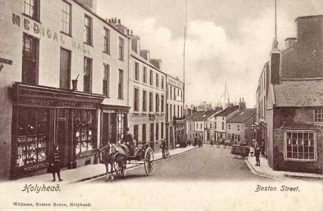 Boston Street Holyhead