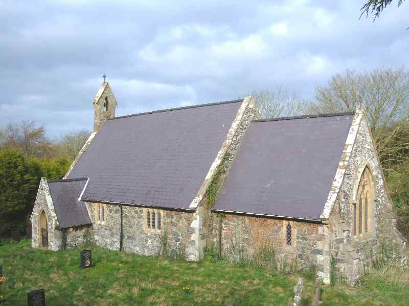 Cerrigceinwen Church