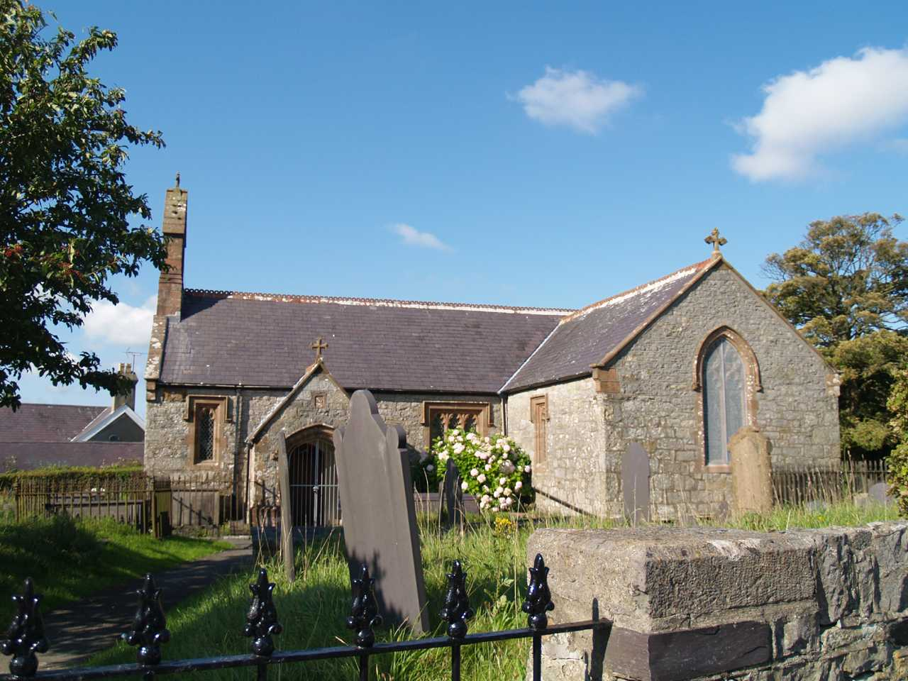 pentraeth church on anglesey st marys