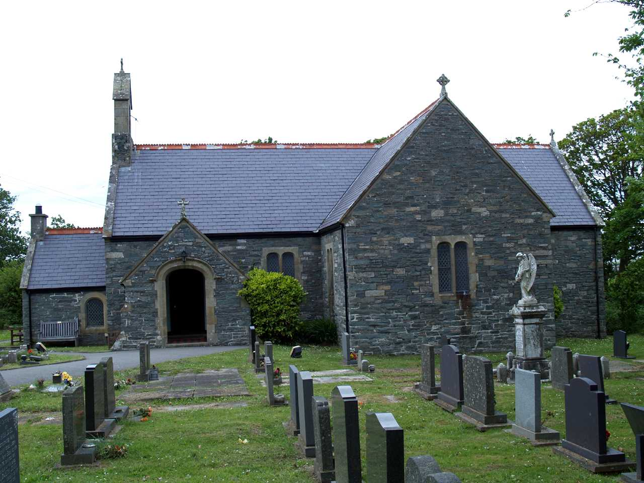Valley Church on Anglesey