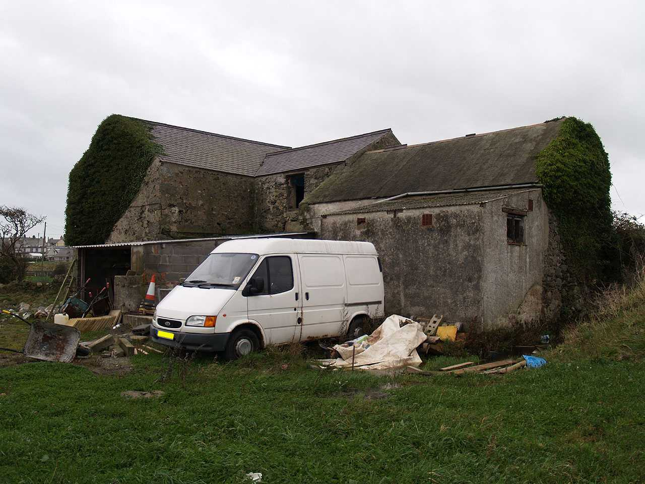 Aberffraw, Melin Y Traeth Water Mill, now I believe used as a builders yard