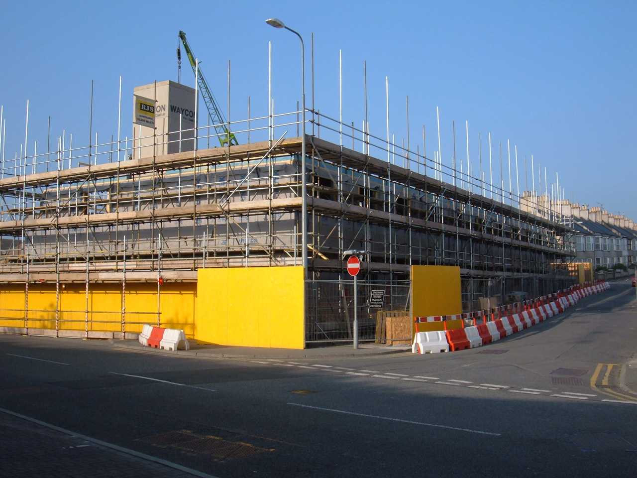 The new hotel on the land that the Nightclub / snooker club stood - May 2007