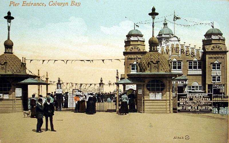 Colwyn Bay Pier Entrance