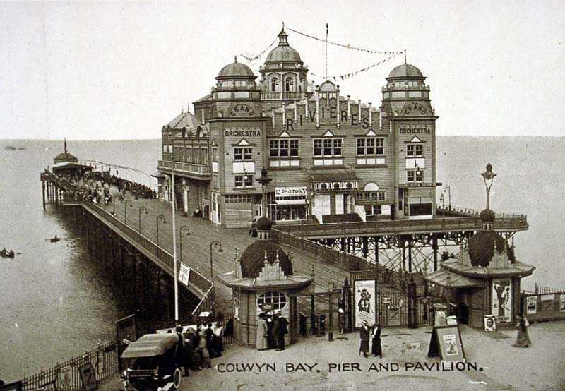 Colwyn Bay Pier and Pavilion