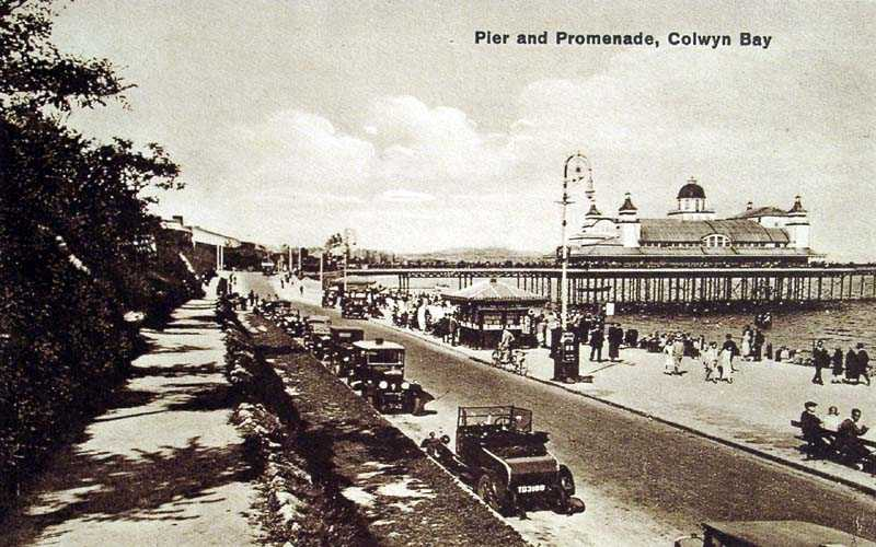 Colwyn Bay Pier and Promenade 1930