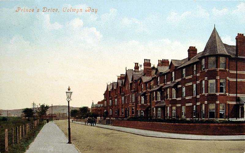 Colwyn Bay Princes Drive 1908
