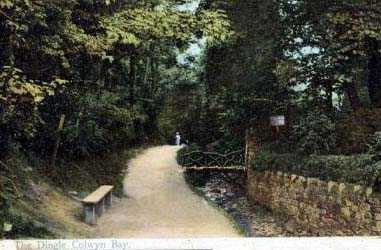 Colwyn Bay The Dingle 1900's
