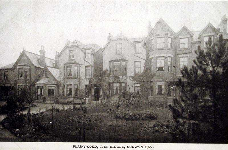 Colwyn Bay The Dingle Plas y Coed