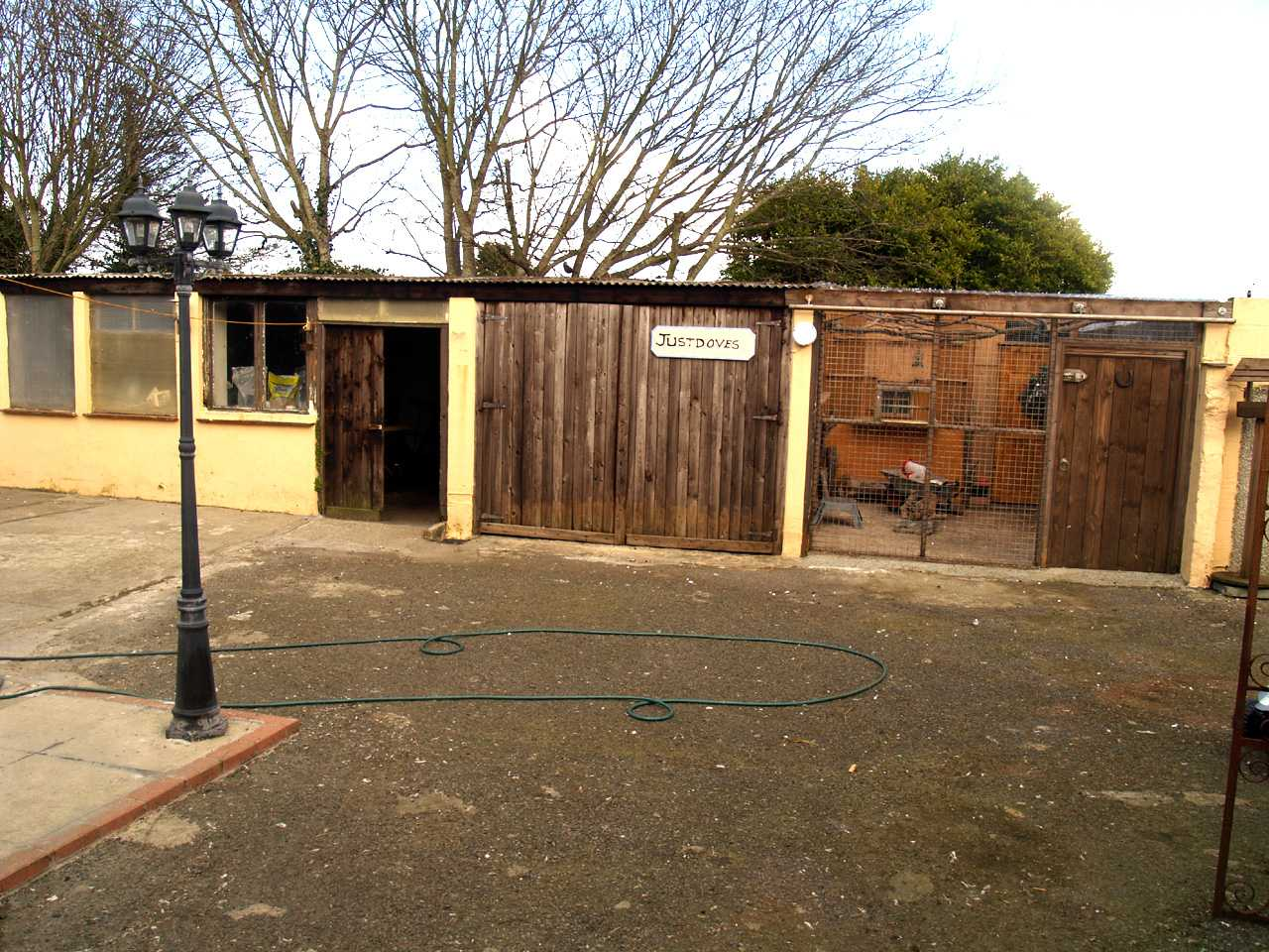 Workshops at rear of house for sale in Holyhead