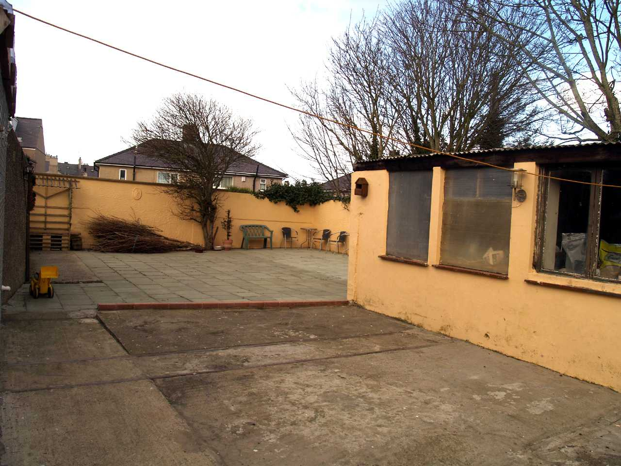 Large area to back of house with multiple uses in house for sale in Holyhead