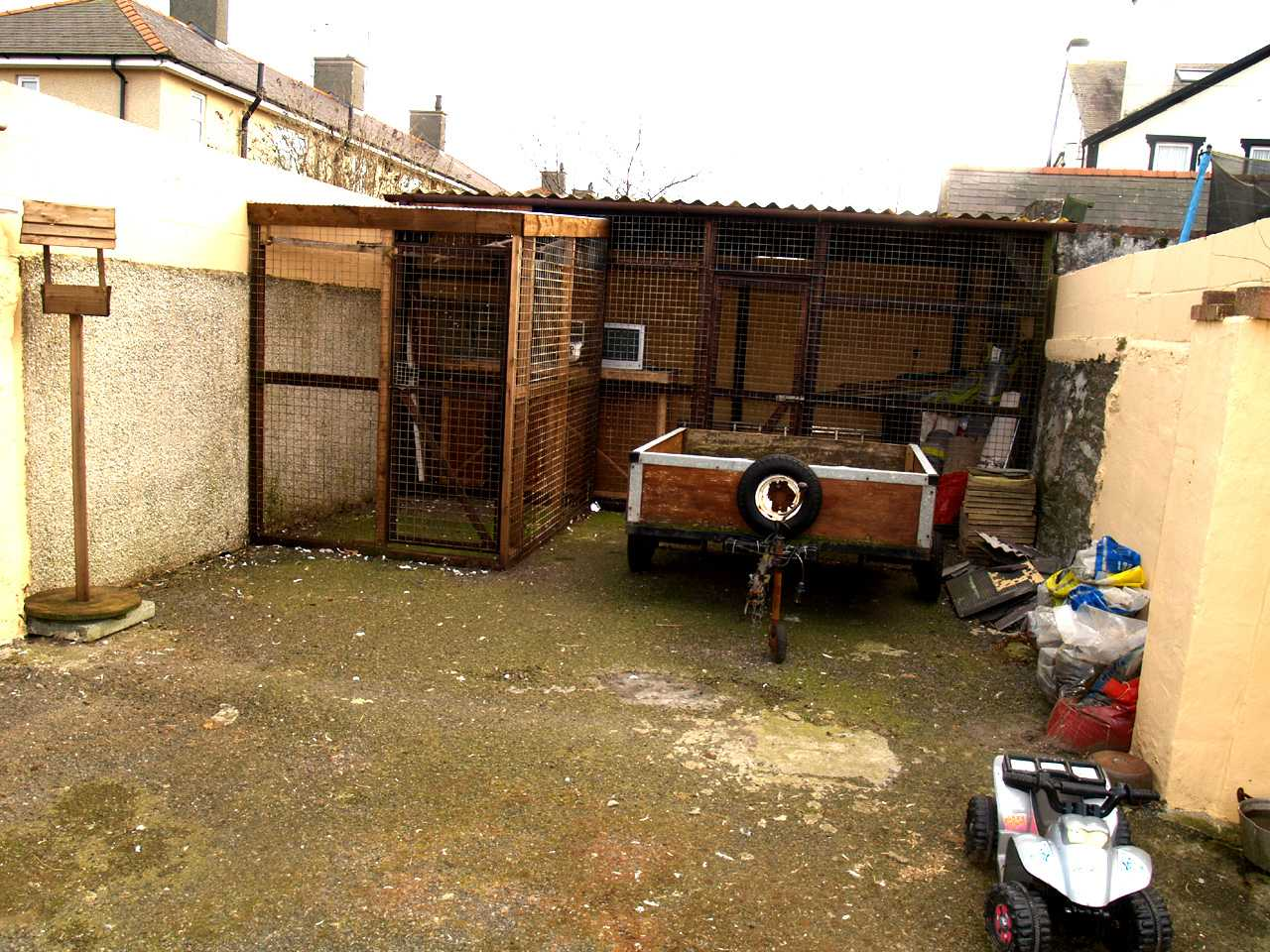 More work areas to rear of house for sale in Holyhead