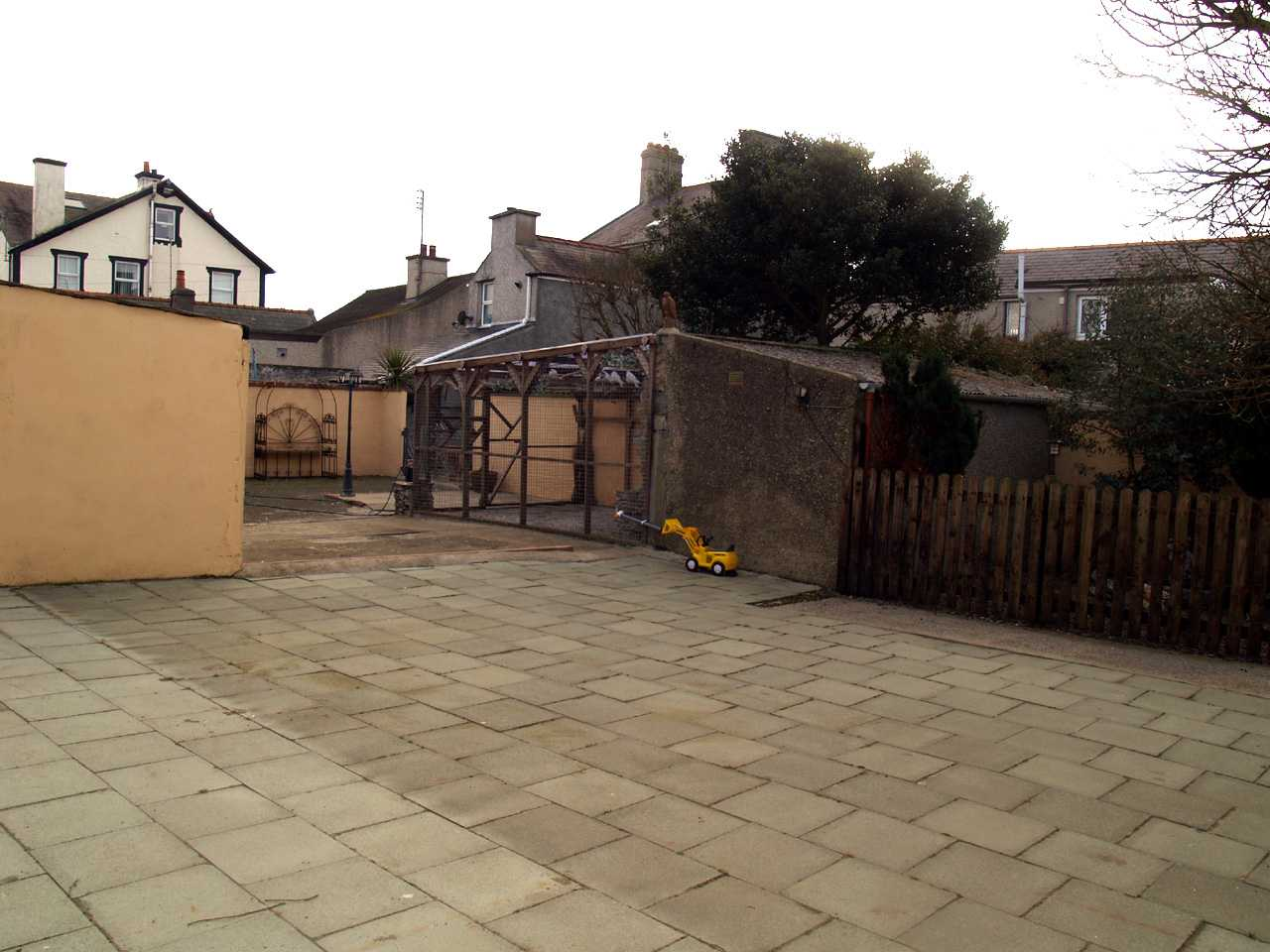 Yard and workshops at back of house with multiple uses in house for sale in Holyhead3