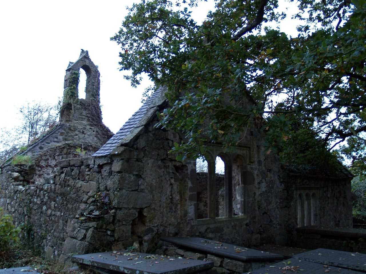 Llanfihangel Ysceifiog (Pentre Berw) Church - abandoned in the 1840's