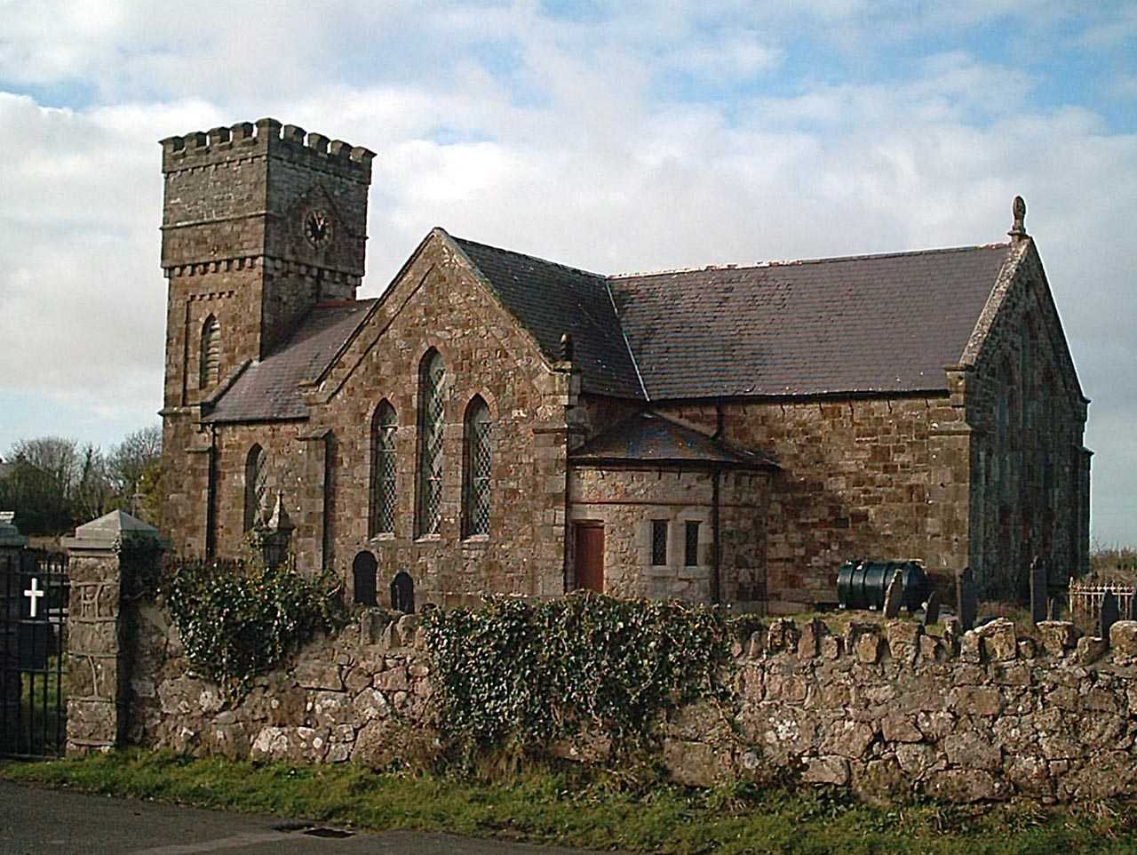 The new Llanidan Church - St Idan / Nidan's