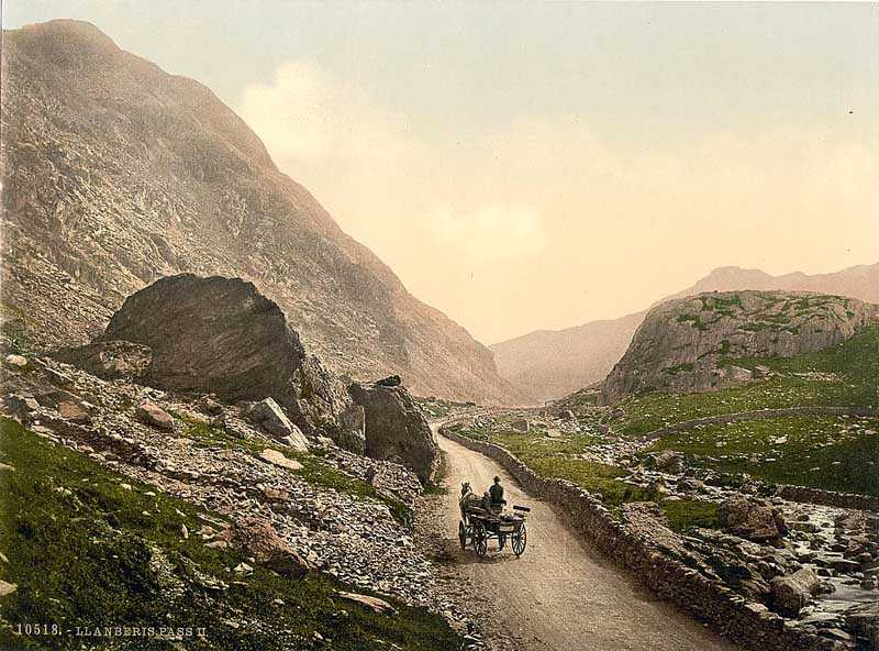llanberis pass in the 1890's