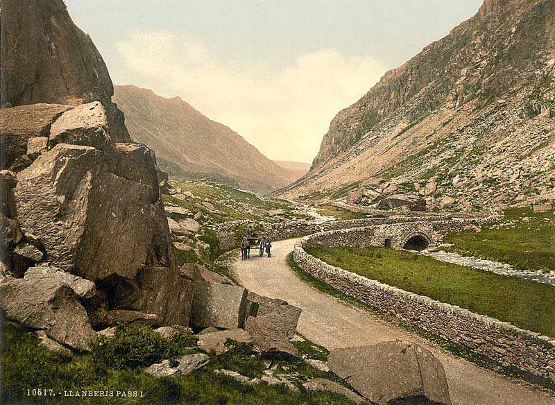 llanberis pass in the early 1900s