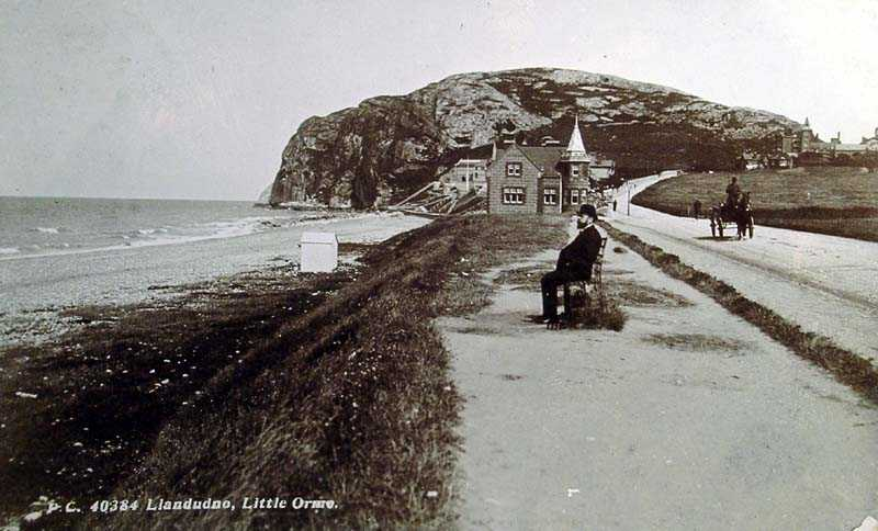 llandundo, little orme in 1909