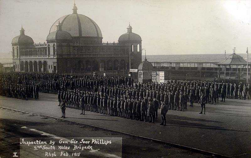 Rhyl, 2nd South Wales Brigade in 1915