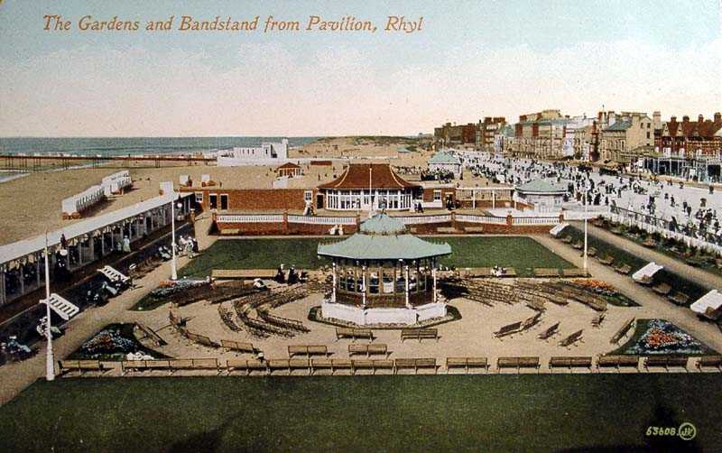 Rhyl, Bandstand and Gardens
