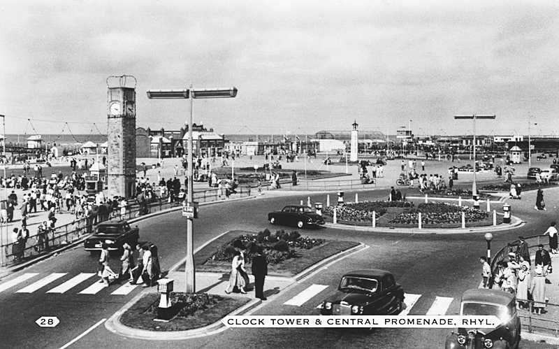 Rhyl, Clock Tower 1960s