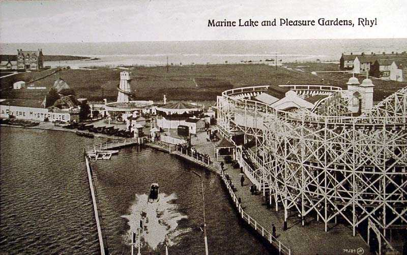 Rhyl, Marine Lake and Pleasure Gardens
