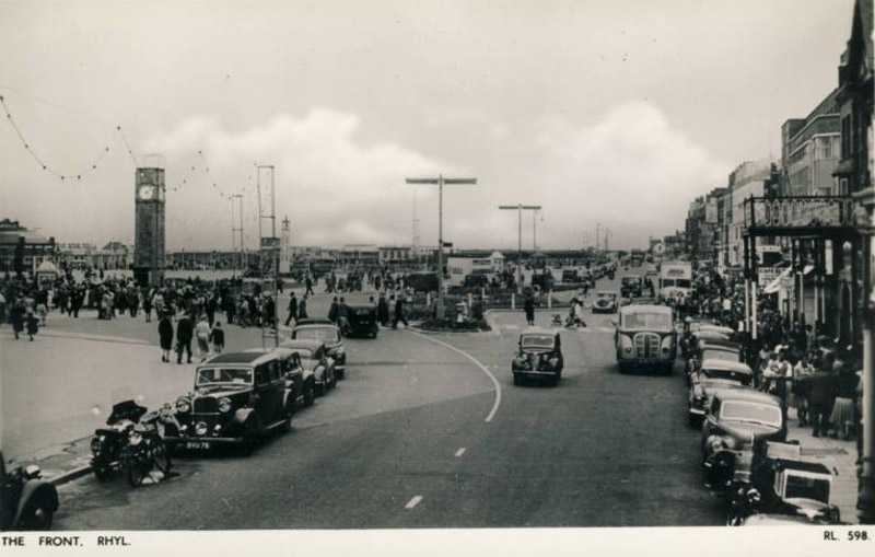 Rhyl, The Front 1950's