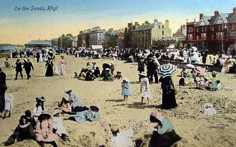 Rhyl, on the Sands