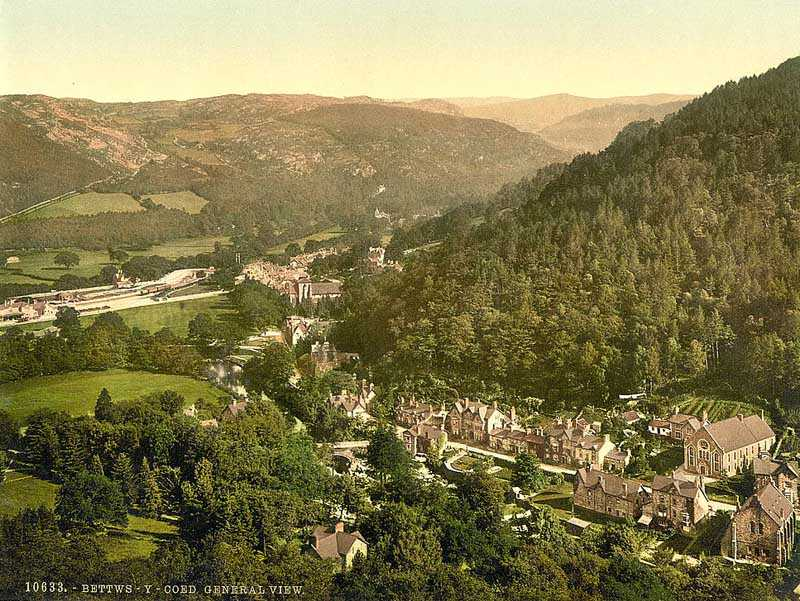 Betws y Coed - General View